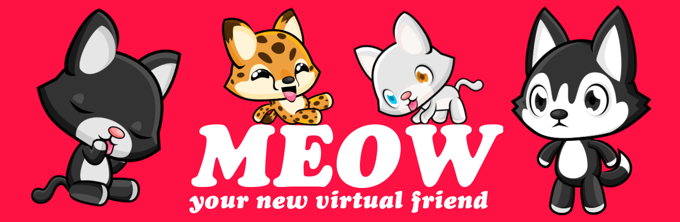 Virtual Cats Game And Community Meow Playground